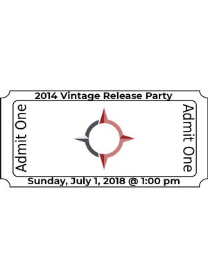 2014 Vintage Release Party: July 1, 2018